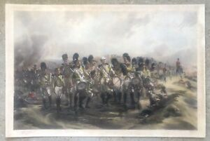 "1897 Lady Elizabeth Butler (1846-1933) Steady the Drums & Fifes--22""x34"""