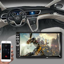 "7"" 2Din Touch Screen Car MP5 Player Bluetooth Stereo FM Radio USB/TF AUX In F8G9"