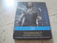 UNDERWORLD RISE OF THE LYCANS Blu-Ray SteelBook NEW&SEALED Michael Sheen