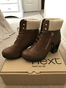 Next Boots Wide Fit Size 7