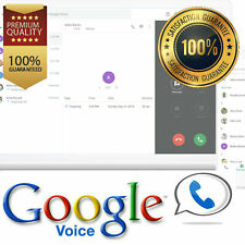 Google Voice USA Number Make & Receive Calls/SMS