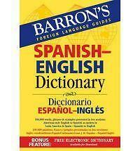Barron's Bilingual Dictionaries: Spanish-English Dictionary : Diccionario Españ…