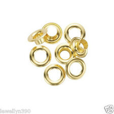 "General Tools 3/8"" Solid Brass Grommet  REFILLS 24 pack #1261-2  NEW!"