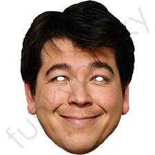 Michael McIntyre Celebrity Comico CARTA MASCHERA-tutte le nostre maschere sono pre-tagliati!