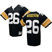 PITTSBURGH STEELERS Rod Woodson Sz M Mitchell & Ness THROWBACK Jersey