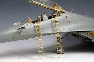 NEW 1/72 Su-27UB/30/30MKK Ladder PE Etched for Trumpeter D545