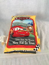 Disney Cars Plush Pillow Story Book Tales From the Track Lightening Mcqueen