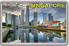 SINGAPORE FRIDGE MAGNET SOUVENIR NEW IMÁN NEVERA