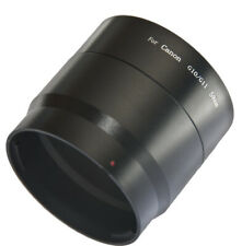 Filter Conversion Adapter Tube 58mm for Canon PowerShot G10 G11 G12