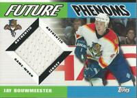 2003-04 Topps Traded Future Phenoms #FPJB Jay Bouwmeester Jersey - NM-MT