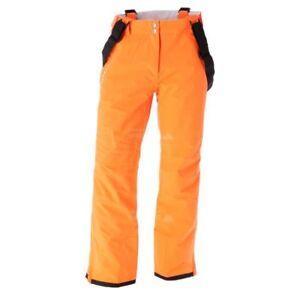 Mens SHORT LEG VIBRANT ORANGE Dare2b CERTIFY II Stretch Ski Salopettes Pants
