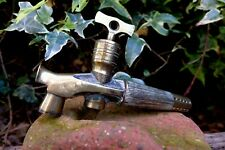 Antique  Brass Beer Barrel Keg Tap Spigot Valve Tap Vine Cask Collector Rare Key