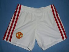 Manchester United FC / 2016-2017 Home - ADIDAS - KIDS Shorts. 3-4 years, 104 cm
