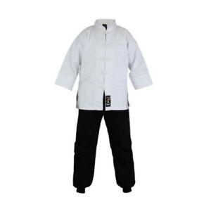 Martial Arts Kung Fu Uniform Mix Cotton Gi Kids Adults Suits Tai Chi