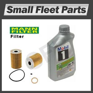 Sprinter Mobil 1 Oil Change Kit 13 Quarts Oil & OE Filter 0W30 MB Freightliner