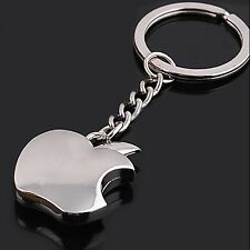 Trinket Apple Ring Holder Keys Pendant Gift Silver Alloy Souvenir