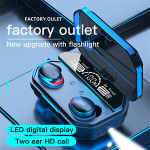 A17 Bluetooth 5.1Headset Wireless  Mini Earbuds Stereo Headphones Charge Case