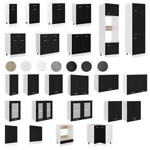 vidaXL Küchenzeile Einbauküche Küchenschrank Set Küchenblock mehrere Auswahl