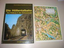 Les Höllentalbahn-de Fribourg en forêt noire-tranchant/Wollny-Chemin de fer