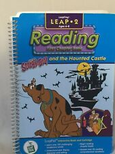 LeapFrog LeapPad Intearactive Replacement Book- Scooby-Doo & the Haunted Castle