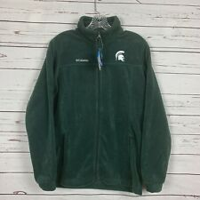 NWT  Columbia Fleece Youth XL Flanker Jacket Michigan State Spartans