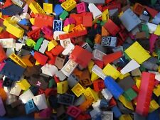 Lego 100 + Roof Tiles Sloping / Angled BRICKS a good mix Various Colours & sizes