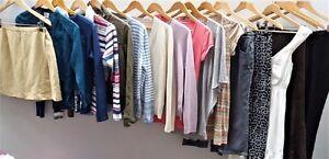 Womens / Ladies Job Lot Used 'Cream' Clothing - Mixed Box Bundle Re-Sale Graded