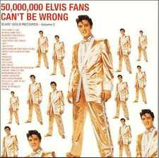 ELVIS PRESLEY : 50,000,000 ELVIS FANS CAN'T BE WRONG (CD) sealed