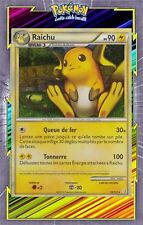 Raichu Holo - HS01:HeartGold SoulSilver - 10/123 - Carte Pokemon Neuve Française