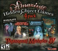 Paranormal Mysteries IV PC Games Windows 10 8 7 XP Computer hidden object find
