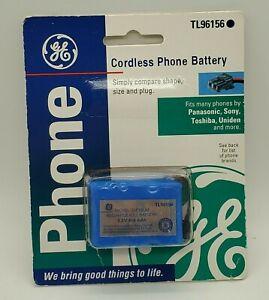 GE Cordless Phone Battery TL96156 New NIP 3.6 Volt Fits Panasonic Sony Uniden