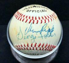 New listing Cincinnati Reds Multi-Player Signed Baseball Vern Rapp George Foster Brennaman +