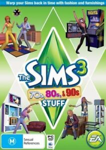 The Sims 3 70s 80s and 90s Stuff Add On PC Game Factory Sealed AU version