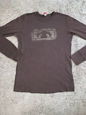 Blown Gear Brown Longjohn Shirt Thermal Wear Mens Top Mens Large Soft