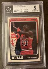 Michael Jordan 1988-89 Fleer #17 BGS Beckett 8 Quad 8.5 🔥🔥 HOF Bulls