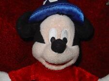 Genuine Disney Micky Mouse Wizard Plush Key Ring Handbag Charm Keyring