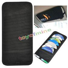 Car Visor Holder Organizer 12 Cd/Dvd Disk Storage Holder - Black New Pocket Case