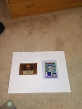 2 Prince Fielder Card Lot (2011 Lineage Mini Relic, 2012 UD/UDC SP Auto)