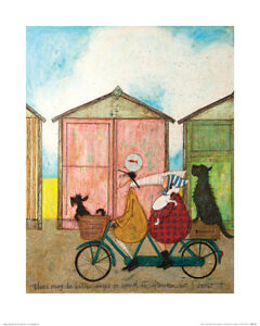 Sam Toft There may be Better Ways to Spend an Afternoon  Art Print 40 x 50 cm
