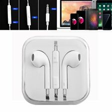 Earphones Headphone For iPhone 4 5 5s 6 iPod iPad Air With Remote Mic in Box RS
