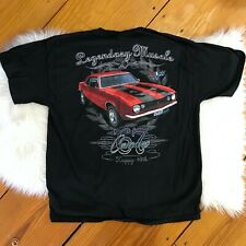 1967 Camaro 40th Anniversary T Shirt Men's Size Large Black Graphic Tee