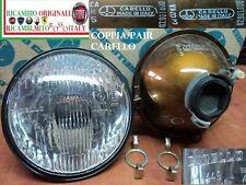 Faro anteriore FIAT 128 Coupe 124 Special Ferrari ALFA 150 Mm. Carello Headlight