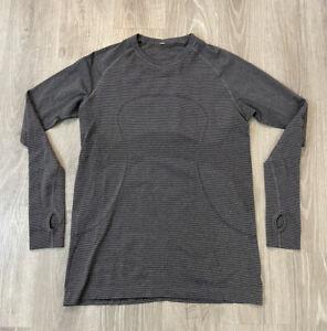 Lululemon Long Sleeve Swiftly Tech Shirt Gray Size 12 Lightweight Seamless