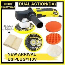"6"" Dual Action DA Car Polisher Buffer Sander 6 Speed Polishing Waxing Machine US"