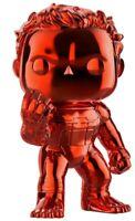 MARVEL AVENGERS HULK POP #499 RARE RED CHROME FINISH VINYL FIGURE FUNKO MIB!!!