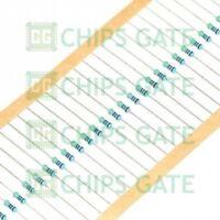 100PCS 1/2W 0.5W 1% Metal Film Resistor 75 Ohm
