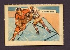 1946 KELLOGG'S ALL- WHEAT HOCKEY CARD SPORT - TIPS # 5 BOARD TRICK