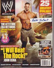 WWE Magazine Holiday 2011 John Cena, Kelly Kelly 040317nonDBE
