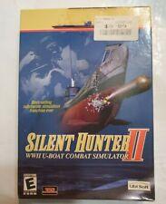 Silent Hunter II 2 - Naval Combat Ship WW2 Submarine Simulation PC Game NEW