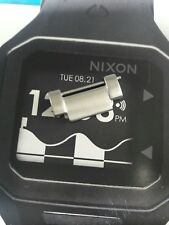 Nixon The Manual II Silver EXTRA WATCH LINK